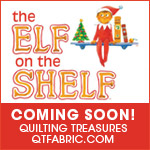 Elf on the Shelf from Quilting Treasures